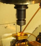 CNC Erowa와 호환이 되는 압축 공기를 넣은 선반 물림쇠