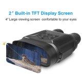 """7X31 цифровые приборы ночного видения бинокулярного зрения до 400 м с 2"""" ЖК TFT"""