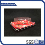 2018 Nova impressão colorida caixa Sushi de plástico com tampa Anti-Fog Bandeja Sushi