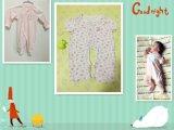 Infanti & bambini che coprono i vestiti del bambino della fibra naturale, pagliaccetti infantili