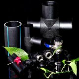 Tubo de plástico de HDPE negro de 6 pulgadas de alta calidad de los tubos de agua