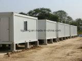 Chambre modulaire minuscule normale préfabriquée de conteneur de bâti en acier