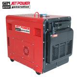 4.5Kw 5 КВА бесшумный портативный дизельный генератор в наличии на складе