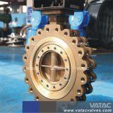 Volles Öse-Oblate-Getriebe-Hochleistungs--Drosselventil