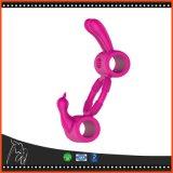 brinquedos de vibração do sexo do vibrador do anel do pénis do anel da torneira 7speed para homens e mulheres