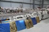 Type plat machine d'enduit des carreaux de céramique PVD/ligne titaniques continues