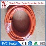 Fabriqué en Chine de nouvelles connaissances clair couleur flexible de gaz en PVC souple