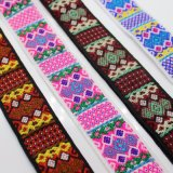 Personalización de alta calidad estilo étnico, tejido de la cuerda de polipropileno cinta para la bolsa