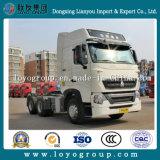 중국 Sinotruk HOWO T7h 6X4 540HP 트랙터 트럭