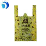 Sneed de Gele Matrijs van de t-shirt de PolyZakken van de Plastic Zak op Broodje