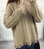 Conjuntos flojos del collar del modelo que hace punto del suéter (BTQ202)
