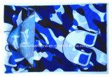 Aquecedor azul personalizado produto Tubana da garganta do poliéster camuflar da cópia da fábrica