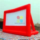 Heißer Verkaufs-aufblasbarer Film-Bildschirm-beweglicher im Freienbildschirm