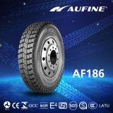 Pneumático radial do caminhão do pneumático de Aufine (315/80R22.5 com o alcance, etiquetando)