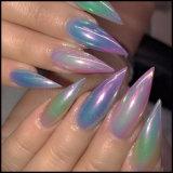 Pigmento dell'acrilico dello specchio del bicromato di potassio del Rainbow della polvere del chiodo di luccichio di pendenza della sirena