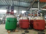 El tanque de mezcla del acero inoxidable con las láminas de la dispersión