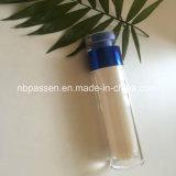50ml glanzende Blauwe AcrylFles Zonder lucht voor Kosmetische Verpakking (ppc-nieuw-161)
