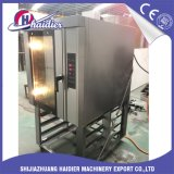 Luftumwälzung 12 Tellersegment LPG-Konvektion-Ofen-Konvektor-Öfen mit Dampf-Spray