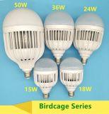 36W bulbo plástico del poder más elevado LED