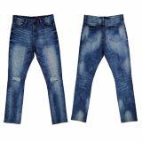 Pantaloni caldi dei jeans di vendita di alta qualità degli uomini (5654)
