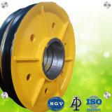 CNC di alta qualità che lancia la puleggia profonda della fune metallica di 2.5mm