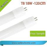 2 van de Garantie 9W 0.6m/12W 0.9m/18W 1.2m/24W 1.5m T8 leiden 110lm/W jaar van het Neonlicht van de Buis