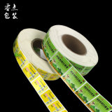 Etiqueta autoadesiva feita sob encomenda da etiqueta do produto da impressão, etiqueta da etiqueta adesiva, impressão da etiqueta do rolo da etiqueta