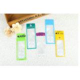 Les cartes de visite professionnelle de visite promotionnelles de loupe/plastique Bookmarks la loupe de PVC (HW-802A)