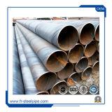 Нефть и Газ SSAW линии трубопровода, API 5L нефтепровода X42 X52 при бурении окантовкой, спираль стальной трубопровод свай