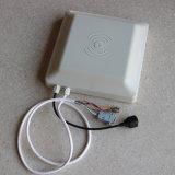 escritor Integrated ajustável de leitura do leitor de cartão da freqüência ultraelevada RFID da potência da distância 30dmi de 1-6m