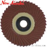 Roda da borboleta de polimento para madeira, alumínio e aço inoxidável