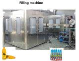 Complete 1T/H 2t/h de enchimento de líquido de suco de frutas do vaso de engarrafamento da linha de produção