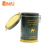 Airtight Tea Tin Manufacturer with Metallic finish for 500g
