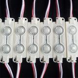 El Alto-Brillo 0.48W 2LEDs SMD5050 impermeabiliza el módulo de la inyección del LED con la lente para las muestras electrónicas