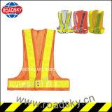 Maglia funzionante di avvertimento di sicurezza stradale di obbligazione di alta qualità per gli operai