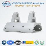 Customzied 6063-T5 l'Extrusion de profilés en aluminium pour dissipateur thermique avec l'usinage CNC