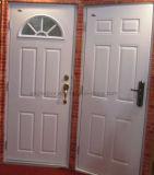 Porta de Aço Americano populares de vidro interior única porta de metal (EF-UM011)