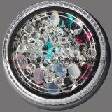 4 couleurs/talons micro de caviar du clou 3D d'art charmes réglés des décorations DIY et clous en cristal de bijou de Sequins de Rhinestone et de scintillement (ND11)