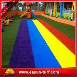 高密度人工的なテニスの草のカーペットの合成物質の泥炭