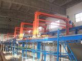 Ligne d'enduit automatique électrophorétique de pulvérisation de poudre
