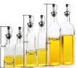 زجاجيّة زيت [فينجر] زجاجة مع تسرب برهان غطاء