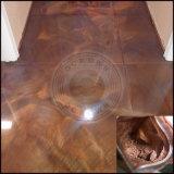 Plancher de la poudre de bronze de parquet, de murs carrelés de revêtements de sol époxy pigments colorants