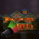 LEDの太陽プロジェクターは庭の休日のパーティの装飾のための防水屋外の赤いおよび緑の太陽レーザー光線をつける