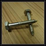 Leite em aço inoxidável de alta qualidade 304 316 Cruz de cabeça escareada parafuso de madeira
