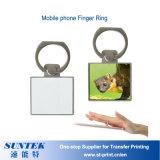 Sublimation-Übergangsbewegliches Leder umkleidet Telefon-Finger-Ring