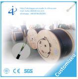 Cable de la comunicación de cable óptico de fibra con 12 acorazados ligeros de la base