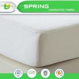 Lanas 100% de la tela de algodón que llenan la cubierta impermeable del protector del colchón