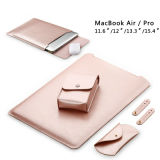 Bolsa de portátil ligero de microfibra para MacBook/Aire/PRO
