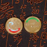 Moneta di oro su ordinazione del pezzo fuso per il ricordo