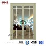 Puerta modificada para requisitos particulares con el vidrio de aluminio de Temeperd del marco
